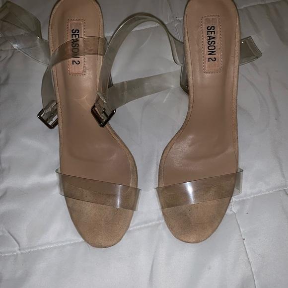 Yeezy Shoes - Yeezy Season 2 Clear Heels 👠